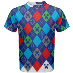 Minecraft Ugly Holiday Christmas Men s Cotton Tee