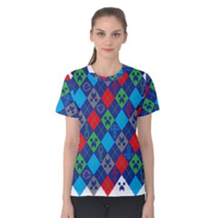 Minecraft Ugly Holiday Christmas Women s Cotton Tee