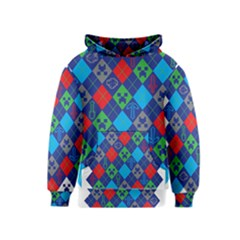 Minecraft Ugly Holiday Christmas Kids  Pullover Hoodie