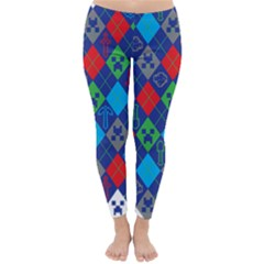 Minecraft Ugly Holiday Christmas Classic Winter Leggings