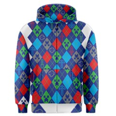 Minecraft Ugly Holiday Christmas Men s Zipper Hoodie