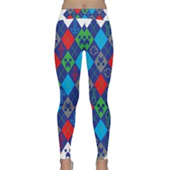 Minecraft Ugly Holiday Christmas Classic Yoga Leggings
