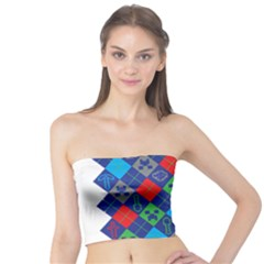 Minecraft Ugly Holiday Christmas Tube Top