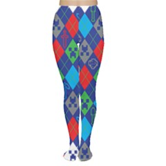 Minecraft Ugly Holiday Christmas Women s Tights