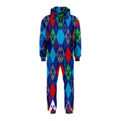 Minecraft Ugly Holiday Christmas Hooded Jumpsuit (Kids)