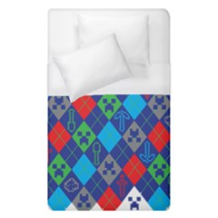 Minecraft Ugly Holiday Christmas Duvet Cover (Single Size)