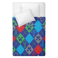 Minecraft Ugly Holiday Christmas Duvet Cover Double Side (Single Size)