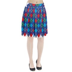 Minecraft Ugly Holiday Christmas Pleated Skirt
