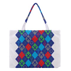Minecraft Ugly Holiday Christmas Medium Tote Bag