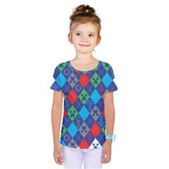 Minecraft Ugly Holiday Christmas Kids  One Piece Tee