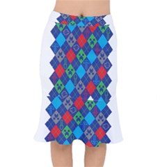Minecraft Ugly Holiday Christmas Mermaid Skirt