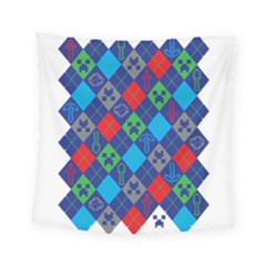 Minecraft Ugly Holiday Christmas Square Tapestry (Small)
