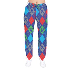 Minecraft Ugly Holiday Christmas Drawstring Pants