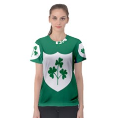 Ireland National Rugby Union Flag Women s Sport Mesh Tee