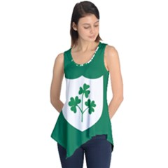 Ireland National Rugby Union Flag Sleeveless Tunic
