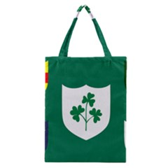 Ireland National Rugby Union Flag Classic Tote Bag