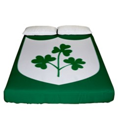Ireland National Rugby Union Flag Fitted Sheet (King Size)