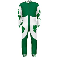 Ireland National Rugby Union Flag OnePiece Jumpsuit (Men)