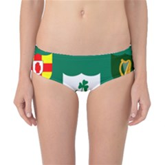 Ireland National Rugby Union Flag Classic Bikini Bottoms