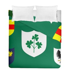 Ireland National Rugby Union Flag Duvet Cover Double Side (Full/ Double Size)