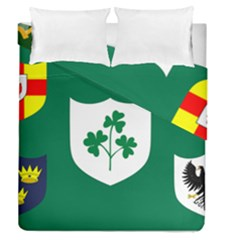 Ireland National Rugby Union Flag Duvet Cover Double Side (Queen Size)