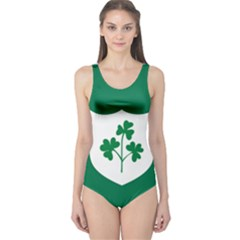 Ireland National Rugby Union Flag One Piece Swimsuit