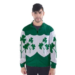 Ireland National Rugby Union Flag Wind Breaker (Men)