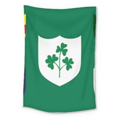 Ireland National Rugby Union Flag Large Tapestry
