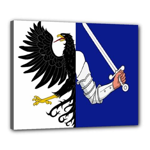 Flag of Connacht Canvas 20  x 16