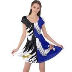 Flag of Connacht Cap Sleeve Dresses