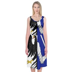 Flag of Connacht Midi Sleeveless Dress