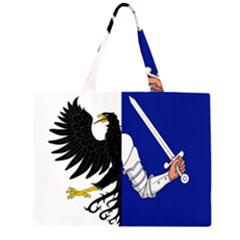 Flag of Connacht Zipper Large Tote Bag