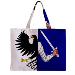 Flag of Connacht Medium Zipper Tote Bag