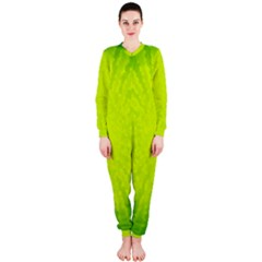 Radial Green Crystals Crystallize OnePiece Jumpsuit (Ladies)