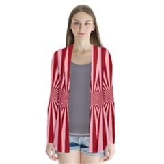 Sun Background Optics Channel Red Cardigans