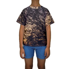 Arizona Sunset Kids  Short Sleeve Swimwear