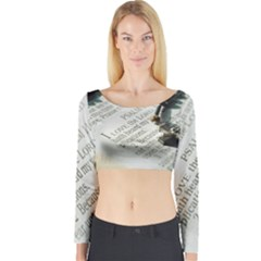 I love The Lord Long Sleeve Crop Top