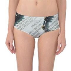 I love The Lord Mid-Waist Bikini Bottoms