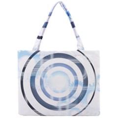 Center Centered Gears Visor Target Mini Tote Bag