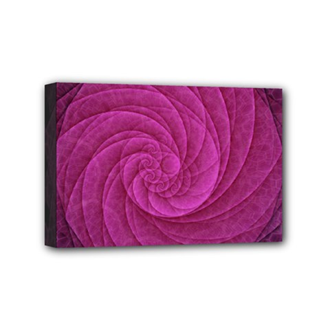 Purple Background Scrapbooking Abstract Mini Canvas 6  x 4