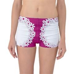 Photo Frame Transparent Background Boyleg Bikini Bottoms