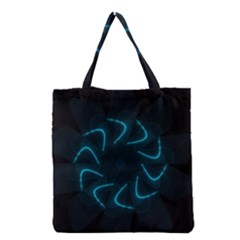 Background Abstract Decorative Grocery Tote Bag