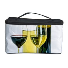 White Wine Red Wine The Bottle Cosmetic Storage Case