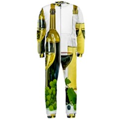 White Wine Red Wine The Bottle OnePiece Jumpsuit (Men)