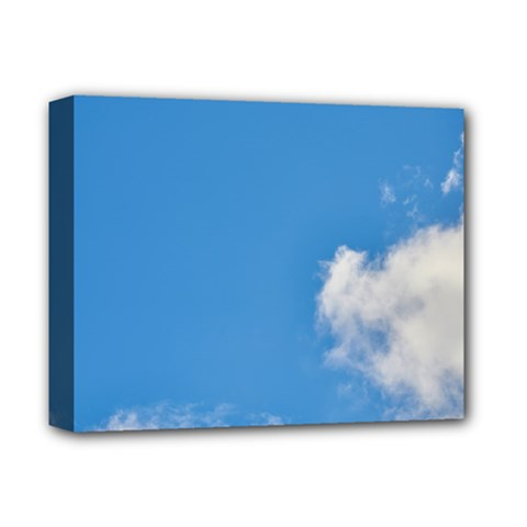 Air Sky Cloud Background Clouds Deluxe Canvas 14  x 11