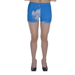 Air Sky Cloud Background Clouds Skinny Shorts