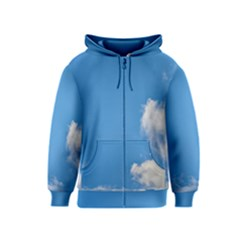 Air Sky Cloud Background Clouds Kids  Zipper Hoodie