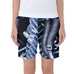 Motorcycle Details Women s Basketball Shorts