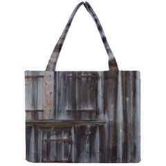 Alpine Hut Almhof Old Wood Grain Mini Tote Bag