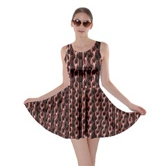 Chain Rusty Links Iron Metal Rust Skater Dress